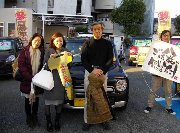 淀川区 Y様 - 納車時のお写真