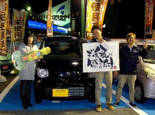 岸和田市 N様 - 納車時のお写真