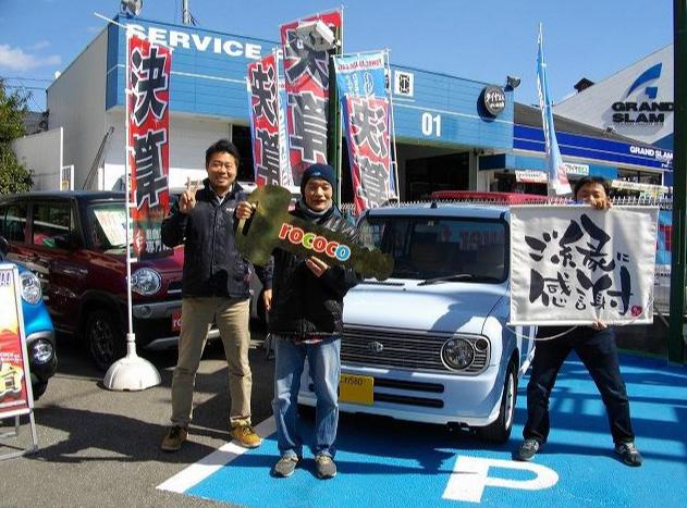 大阪市福島区 T様 - 納車時のお写真