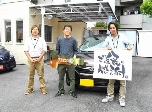 岸和田市 M様 - 納車時のお写真